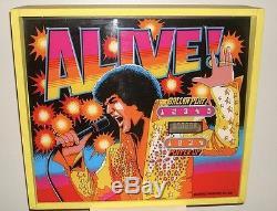Elvis Presley Original Brunswick Pinball Machine Scoreboard Beautiful