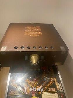 Fire! Williams Pinball Machine