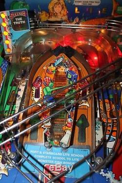 Fish Tales Pin Ball Machine by Williams. Refurbished and Mint Condition