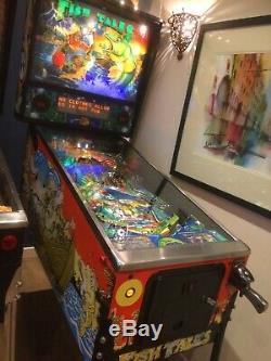 Fish Tales Pinball Machine 1992 Williams