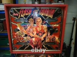 Flash Gordon Movie Pinball Machine Memorabilia- Stunning Warrantied