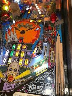 Flipper Addams Family Bally Pinball
