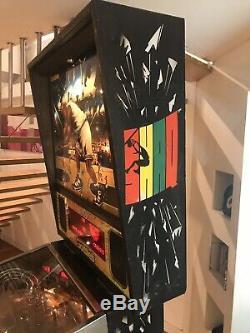 Flipper gottlieb Shaq Attaq Tutto Funzionante Pinball Vintage