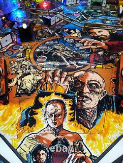Frankenstein Pinball By Stern 1995 With Colour Display