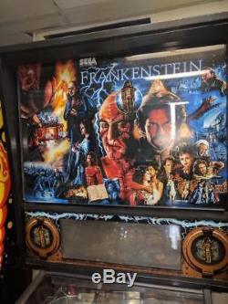 Frankenstein Pinball Sega Arcade machine. Nice. Free Shipping. Led Kit Installed