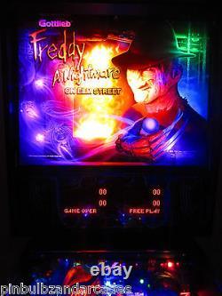 Freddy Complete LED Lighting Kit custom SUPER BRIGHT PINBALL LED KIT (FREDDY)