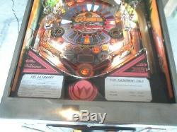 Fully restored 1992 Williams Getaway High Speed 2 Pinball Machine Stunning