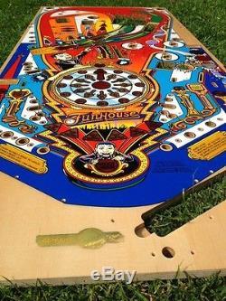 Funhouse pinball machine NEW playfield