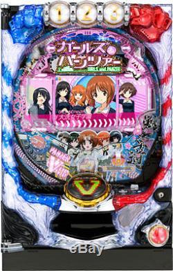 Girls with Panzer Anime Pachinko Machine Japanese High School Slot Pinball