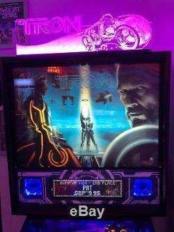 Gorgeous Tron Pro Legacy (LE Spec) Pinball Machine