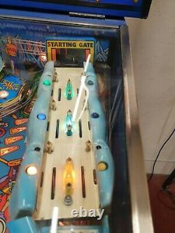 Gottleib wipe out pinball machine
