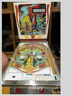 Gottlieb Abra Ca Dabra Pin Ball Machine 1975