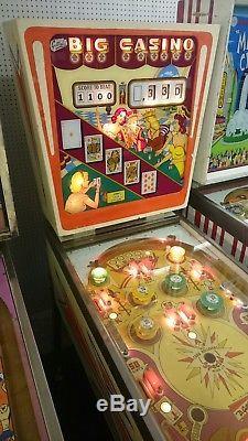 Gottlieb Big Casino Pinball