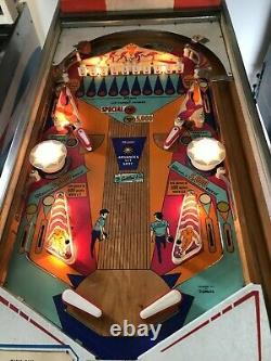 Gottlieb King Pin Pinball Machine Refurbished fully Working