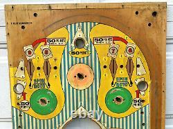 Gottlieb King of Diamonds Pinball Game Machine Playfield EM Wedgehead