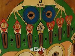 Gottlieb Kings And Queens 1965 Pinball Machine Playfield Great Americana Pop Art