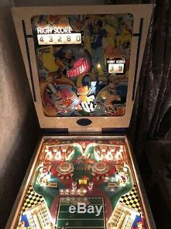 Gottlieb Pro Football Pinball Machine
