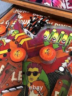 Gottlieb Punk Pinball Machine 80a Rare