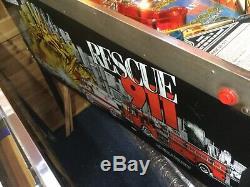 Gottlieb Rescue 911 pinball machine