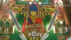 Gottlieb Royal Guard Pinball Circa 1968