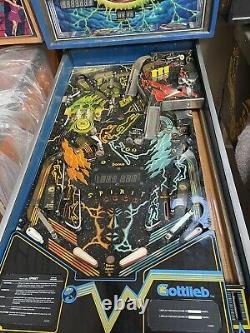 Gottlieb Spirit Pinball Machine 80A Rare Worldwide Shipping