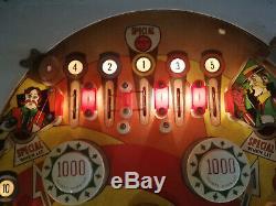 Gottlieb Sure Shot Pinball Machine original 1976