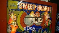 Gottlieb Sweet Hearts Pinball