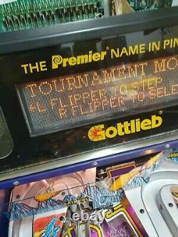 Gottlieb gladiator's pinball machine 1993