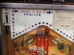 Gottlieb hurdy gurdy automated back box pinball machine