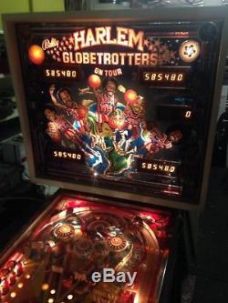 Harlem globetrotters pinball