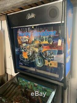 Harley Davidson Pinball Machine 1st Gen