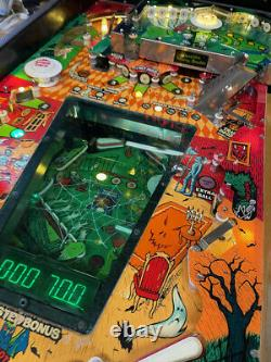 Haunted House pinball machine