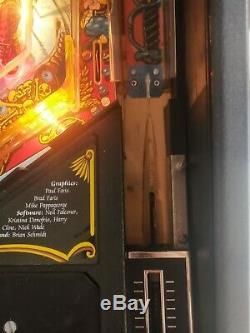 Hook Pinball Machine Data East