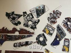 Hook pinball machine full playfield plastic set, also sell separately