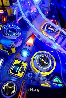 Huo Tron Le Arcade Pinball Machine Only 400 Made Stunning Example So Many Extras