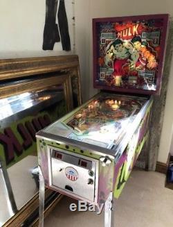 Incredible Hulk Gottlieb Pinball Machine 1979 Full Working Order