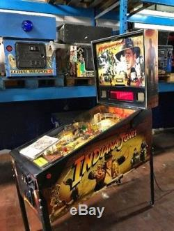 Indiana Jones pinball machine