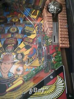 Indiana jones pinball machine Williams