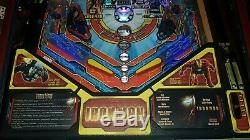 Iron Man Pinball machine. Read Description please. No PayPal