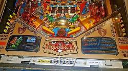 JUDGE DREDD PINBALL MACHINE BY BALLY 1993 AUTOGRAPHED BY DESIGNER John Trudeau