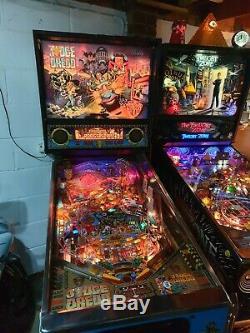 JUDGE DREDD pinball machine