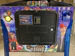 Jersey Jack Willy Wonka Limited Edition Arcade Pinball Machine