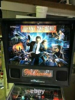 Johnny Mnemonic Pinball Machine