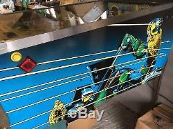 Judge Dredd Pinball Machine. Great Condition. 1993 Bally
