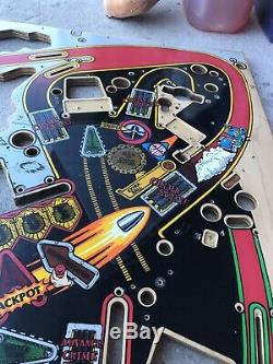 Judge Dredd Pinball Playfield In Great Condition