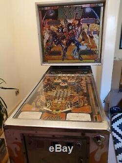 KISS Bally pinball machine 1978