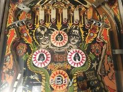 KISS Germany (ss) Pinball Machine Bally 1978 Lp 33