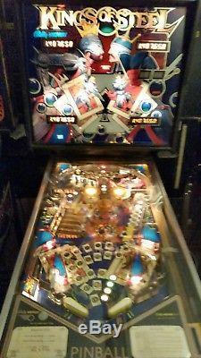Kings of Steel Pinball machine