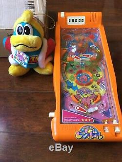 Kirbys Adventure Pinball Machine Japan Rare King Dedede Plush Takara Nintendo