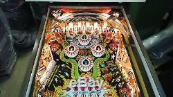 Kiss 1979 Original Pinball Machine Perfect Playfield & Cabinet Fully Working